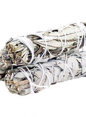 Smudge Stick - White Sage & Yerba Santa 10cm