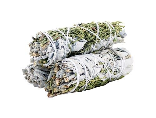 Smudge Stick - White Sage & Juniper 10cm