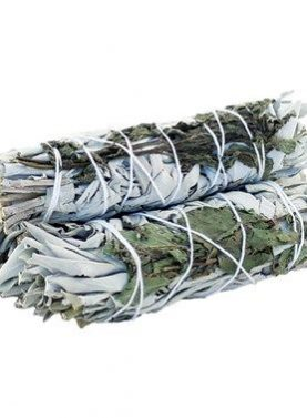 Smudge Stick - White Sage & Rosemary 10cm
