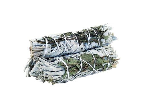 Smudge Stick - White Sage & Rosemary 10cm