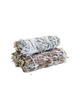Smudge Stick - White Sage & Royal Sage 10cm